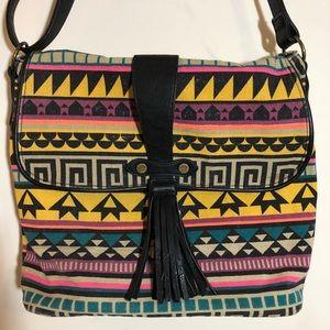 Madden Girl Aztec Crossbody Messenger Bag